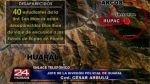 Huaral: más de 40 alumnos de San Marcos se perdieron camino a las ruinas de Rúpac - Noticias de cesar arbulu