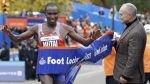 Maratón de Nueva York: keniano Geoffrey Mutai repitió el título - Noticias de geoffrey mutai