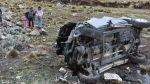 La Libertad: tres muertos dejó caída de auto a abismo en Pataz - Noticias de parcoy