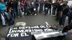 """Alumnos de La Cantuta llegaron al Congreso en """"Marcha de sacrificio"""" - Noticias de freddy aponte"""