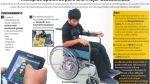 Crean una silla de ruedas que funciona con la voz y movimientos corporales - Noticias de pamela montes