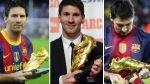 Lionel Messi recibirá este miércoles su tercera Bota de Oro de Europa - Noticias de fernando gomes
