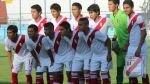 Sub 15 de Perú venció 2-1 a Paraguay en su debut en el Sudamericano - Noticias de guillermo frachi
