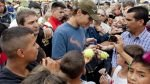 Rafael Nadal jugó tenis con niños de un barrio marginal de Buenos Aires [FOTOS] - Noticias de nicolas massu