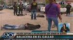 Callao: cinco delincuentes fueron capturados después de una balacera - Noticias de banda de marcas