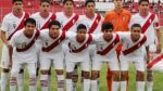 Sub 15 de Perú venció 2-0 a Ecuador y clasificó a semis del Sudamericano - Noticias de bolivia vs. perú