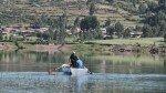 Tres personas se ahogaron por hundimiento de un bote en laguna de Pasco - Noticias de niños campesinos