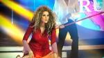 "Karen Schwarz se convirtió en Paulina Rubio en ""Tu cara me suena"" [VIDEO] - Noticias de baila casanova"