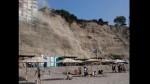 Deslizamiento de piedras en la Costa Verde tras fuerte sismo en Cañete - Noticias de paloma duarte