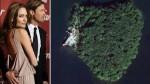 El regalo de Angelina Jolie a Brad Pitt: una isla en forma de corazón - Noticias de frank lloyd wright