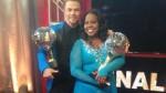 Actriz de Glee ganó la más reciente temporada de 'Dancing With The Stars' - Noticias de derek hough
