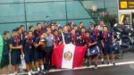 Sub 15: Perú arribó a Lima con el trofeo de campeón del Sudamericano - Noticias de luis enrrique iberico