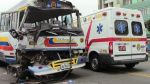 Choque entre dos coasters en la Av. Brasil dejó 16 heridos - Noticias de luis alfredo matos vicos