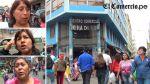 Limeños saben que Mesa Redonda es insegura, pero siguen yendo a comprar - Noticias de jiron puno