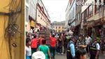 Mesa Redonda recibe a compradores en medio de caos e inseguridad [VIDEO] - Noticias de jiron puno