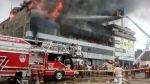 Incendio destruyó almacén de llantas y repuestos en La Victoria - Noticias de josimar lingan rueda