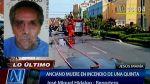 Un anciano de 67 años falleció en un incendio en Jesús María - Noticias de octavio bustamante mendoza