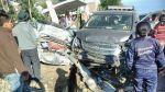 Huancayo: así quedaron los vehículos del accidente que involucra a hinchas de la 'U' - Noticias de accidentes en carreteras