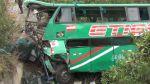 Áncash: al menos 10 muertos y 40 heridos deja vuelco de bus en distrito de Cajacay - Noticias de rodorico cubas
