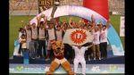 La fiesta que organizó la 'U' en el estadio Monumental por su título número 26 [FOTOS] - Noticias de fútbol nacional