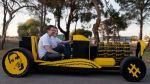 Prueban con éxito un auto hecho de Lego e impulsado por aire - Noticias de steve sammartino