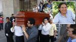 Murió Aristóteles Picho: restos del actor fueron cremados en cementerio de Huachipa - Noticias de cementerio de huachipa