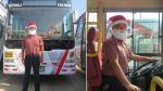 Cuestionada empresa Orión no cobra pasajes en 10 de sus buses por Navidad - Noticias de robert chavez falconi