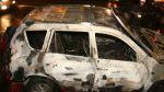 Puno: murieron seis miembros de una familia tras choque e incendio de auto - Noticias de accidentes en carreteras