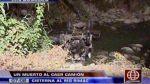 Murió una persona tras caída de camión por el puente Los Ángeles en Chaclacayo - Noticias de accidente de transito