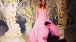 Kaley Cuoco y su vestido de novia rosado son la sensación en las redes - Noticias de rosa vera