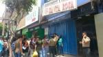 Gamarra: trabajador de limpieza murió aplastado por ascensor de galería - Noticias de hipolito gutierrez nino