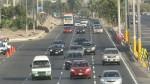 Panamericana Sur tuvo tránsito fluido en primer domingo del año - Noticias de franklin barreto
