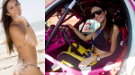 VIDEO: Helena Soares, la musa del rally en Brasil - Noticias de helena soares