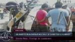 Murió una persona en quíntuple choque en vía Panamericana Norte - Noticias de huarmey