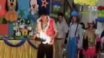 Payaso quemó una paloma mientras animaba un show infantil - Noticias de