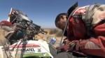 TV francesa capta a peruano 'muerto' de sed en el Dakar - Noticias de sergio lafuente
