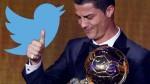 Balón de Oro: Cristiano Ronaldo también ganó en Twitter - Noticias de topsy