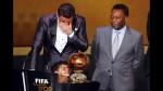Cristiano y su hijo, la imagen que cautivó en el Balón de Oro - Noticias de katia aveira