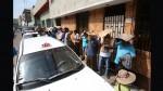 Taxistas invaden vías alrededor del local del Setame - Noticias de taxi metropolitano
