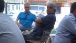 """La foto del """"sancochado"""" entre Luis Favre y Mirko Lauer - Noticias de felipe belisario wermus"""