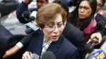 """Gladys Echaíz: """"Se acordó enviarme al JNE hace un mes"""" - Noticias de gladys echaiz"""