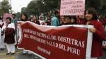 Minsa consideró injustificada la protesta de obstetras - Noticias de maternidad de lima