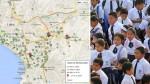 Los colegios más caros de Lima en un mapa - Noticias de pensiones en colegios de lima