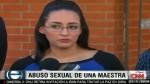 Ex alumna llama a su profesora por abuso sexual y publica video - Noticias de jamie carrillo