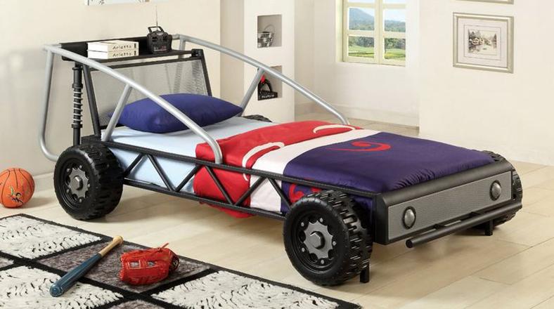 Mira estas curiosas camas de carros para el cuarto de tus hijos ...