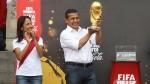 Gana Perú minimizó percance entre Copa FIFA y Nadine - Noticias de divas en eeg