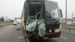Ocho heridos tras choque de bus en la Panamericana Sur - Noticias de empresa soyuz