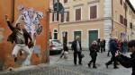 Yo también quiero una foto con el Súper Papa - Noticias de graffiti papa francisco