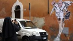 Borran el graffiti del Súper Papa por 'decoro ambiental' - Noticias de graffiti papa francisco