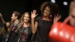 Juanita Burga desfiló junto a Irina Shayk en Barcelona - Noticias de juanita burga